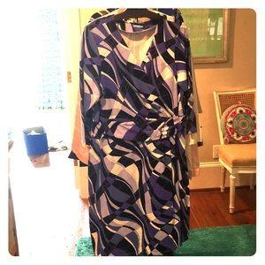J. McLaughlin Patterned Dress